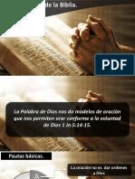 Oraciones de La Biblia I IBE Callao 2018