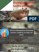 Privlegio de Servir III IBE Callao 2018
