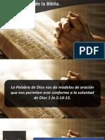 Oraciones de La Biblia IV IBE Callao 2018