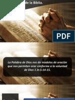 Oraciones de La Biblia v IBE Callao 2018