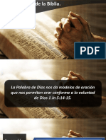 Oraciones de La Biblia II IBE Callao 2018