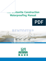 Bentofix for Building Waterproofing