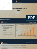 Annual Solar Outlook Report 2019 MESIA