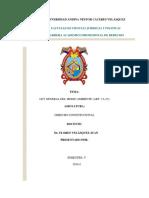 Monografia de Ley General Del Medio Ambiente