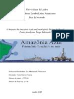 Amazônia Azul na Estratégia de Defesa do Brasil