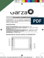 Instrucciones Termostato Digital Garza 400606