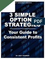 3 Simple Option Strategies