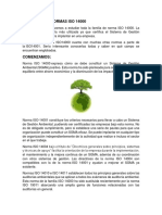 Normas Iso 14001 Clase 10