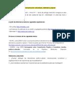 Consigna Ficha 1 Comunicacion Comunitaria, Popular, Alternativa