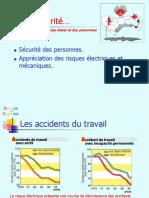 Sécurité Des Personnes. Appréciation Des Risques Électriques Et Mécaniques.