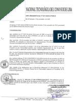 Directiva de Procedimiento Para La Entrega de Cargo