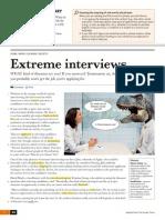 Extreme Interviews