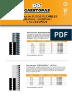 Catalogo Material Electrico Sistema Tubos Flexibles Gaestopas