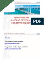 1. Teoria e Progetto Dei Ponti Presentazione Corso