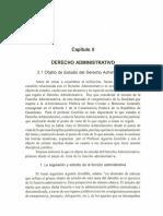 Derecho Administrativo - Cuestionario