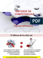 Enfoque en Competencias