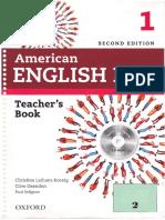 American English File 1 Teachers Book 2nd Edition.pdf