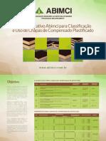 ABIMCI - Guia Orientativo Classificacao Chapas Compensado Plastificado
