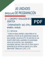 La Unidad Didáctica Tema 2