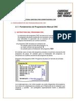 Fundamentos de Prograamacion CNC