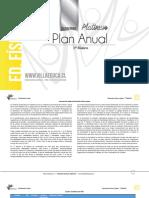 Planificación Anual - EDUCACION FISICA - 1Basico - P