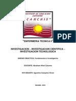 Investigacion Cientifica y Tecnologica