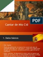 PPT - Cantar de Mio Cid