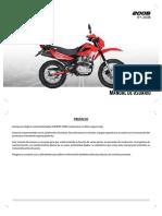 200B 200CC Manual de Usuario