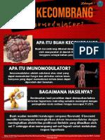 Tugas Poster Imunologi Tentang Imunomodulator
