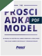 The Prosci ADKAR Model-eBook