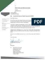 Joseph Molina Flynn Resignation Letter