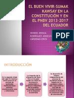 El Buen Vivir-sumak Kawsay en La Constitución y (1)