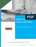 Apostila- Central de Mandados Digital - CARTORIO