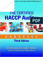 The Certified HACCP Auditor Handbook