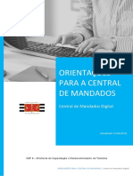 Apostila - Central de Mandados Digital - CENTRAL de MANDADOS