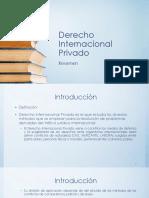 Derecho Internacional Privado Resumen Medio Curso