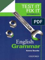 Test It Fix It - English Grammar - Intermediate with markings.pdf