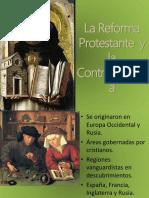 Reforma Protestante y Contrareforma