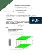 Variación capacitancia