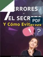 Los 7 Errores de El Secreto