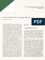 La Faz Oculta de La Cultura Mexica