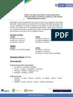 Comunicado 034- Inician Cierres en El Sector de La Manuela. Marzo 27 de 2019