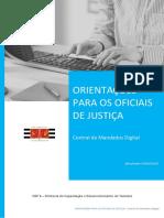 Apostila- Central de Mandados Digital - OfICIAL de JUSTIÇA