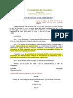 Decreto 11771 Ética Para o Ifpb