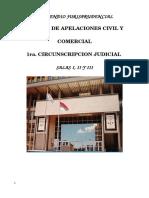 Compendio Jurisprudencial Camara Civil Años 2008-2011