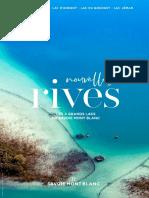 Nouvelles Rives - Les Lacs de Savoie 2019