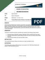 Regular Board Meeting Agenda Package - April 30, 2019 Remuneration
