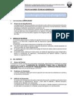 Especificaciones Técnicas Generales - Aypena