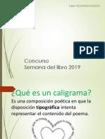 PPT caligrama 2019
