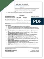 flynn r resume
